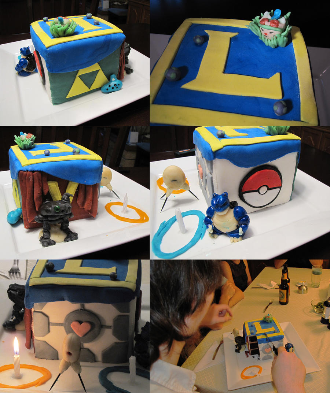 Pics Quiz Cake Art Mon : the game cake by lorestra on DeviantArt