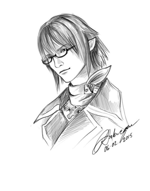 FFXIV Quin sketch by lorestra