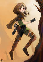 DRAGON'S CROWN - Elf by ren3