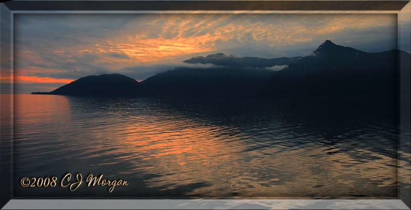 Sunrise Approaching Juneau