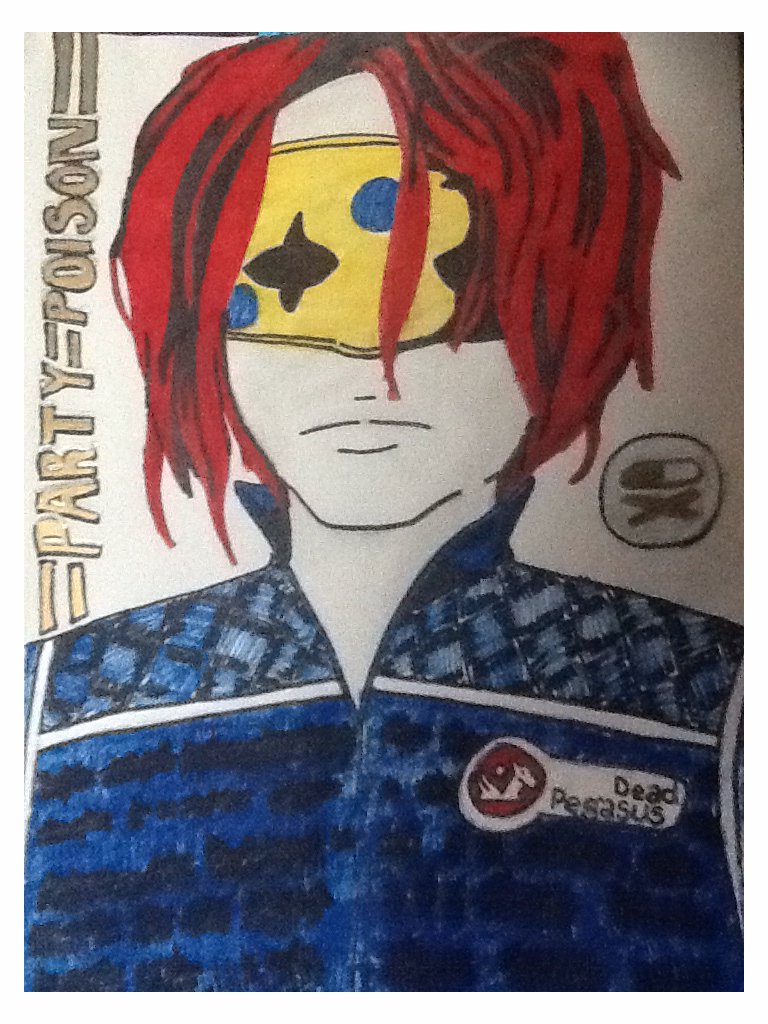 Gerard way- party poison by LC301820
