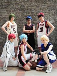[Kuroko no Basket] Skittle Boys by Yeu