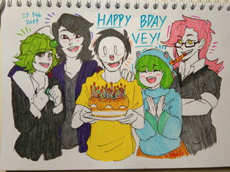 Happy Bday Vey! by DaaG1604