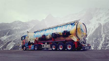 Austrian show truck by casparjagerman20