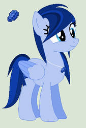 Lapis Lazuli Minecraft Pony   Lapis by Fullmetal-Link