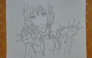 Inori Yuzuriha by aoromore