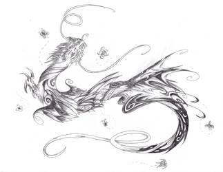 Butterfly Spirit Dragon