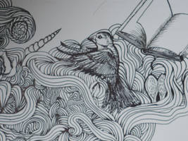A detail of a drawing by creatreedesign