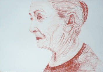 Old lady by creatreedesign