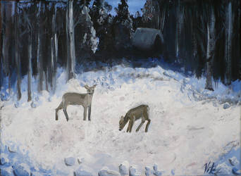 Winter night by creatreedesign