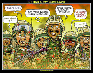 BRITISH ARMY COMPLAINT by glogauer