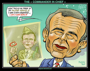 THE ' COMMANDER IN CHIEF ' by glogauer