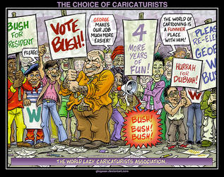 THE CHOICE OF CARICATURISTS by glogauer