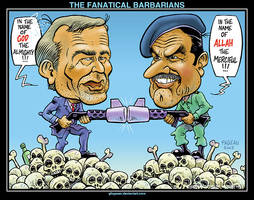 THE FANATICAL BARBARIANS by glogauer