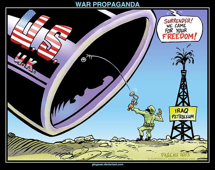 WAR PROPAGANDA by glogauer