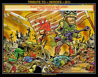 TRIBUTE TO ' HEROES ' (01) by glogauer