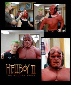 Hellboy 2 make up