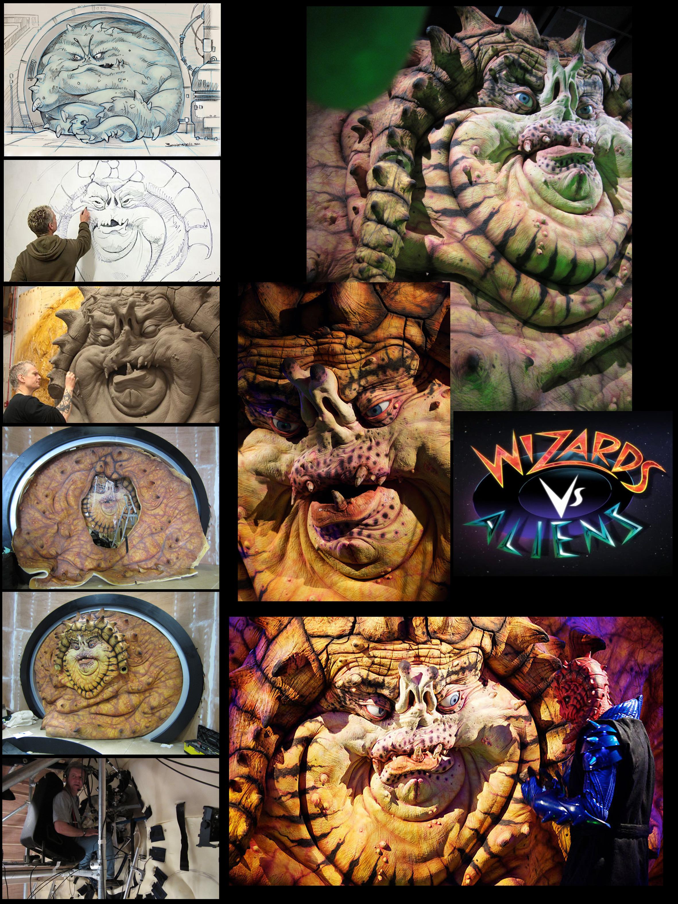 Wizards Vs. Aliens The Nekross King by Kaduflyer