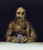 Dr Who - Mummy on the Orient Express - selfie by Kaduflyer
