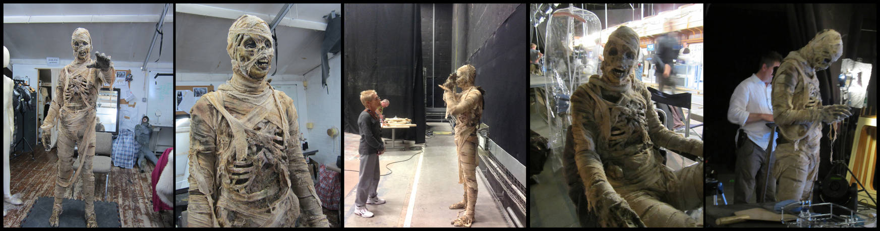 Dr Who - Mummy on the Orient Express - Final Suit