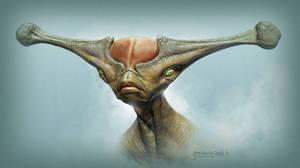 Alien dude!