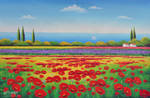 Poppies, and the Sea - Arteet