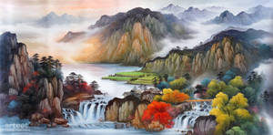 Autumn Colors in the Jiangxi Valley - Arteet