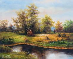 Lago Idilliaco - Arteet by Arteet