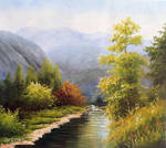 Creek and Woods - Arteet