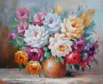 Fleurs Colorees - Arteet