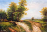 A Sunny Day On The Forest Path - Arteet