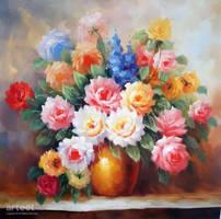 Pot of Flowers - Arteet by Arteet