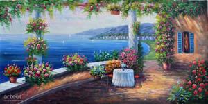 Capri Seascape - Arteet