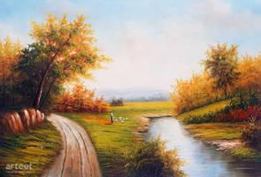 The Shepherdess - Arteet by Arteet