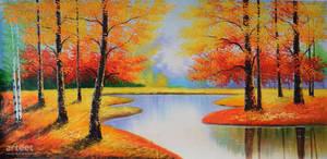 Fall Reflections - Arteet by Arteet