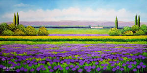 Sea of Purple - Arteet by Arteet