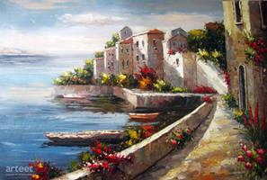 Capri Coast Italy - Arteet by Arteet