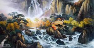 Rushing Falls - Arteet by Arteet