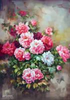 Peonies Bloom - Arteet by Arteet