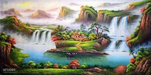 Panorama Guilin - Arteet