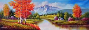 Deep Autumn Ravine - Arteet