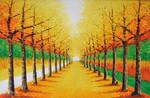 Avenue of Golden Leaves - Arteet