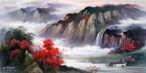 Mist Over The Cliffs and Mountains - Arteet