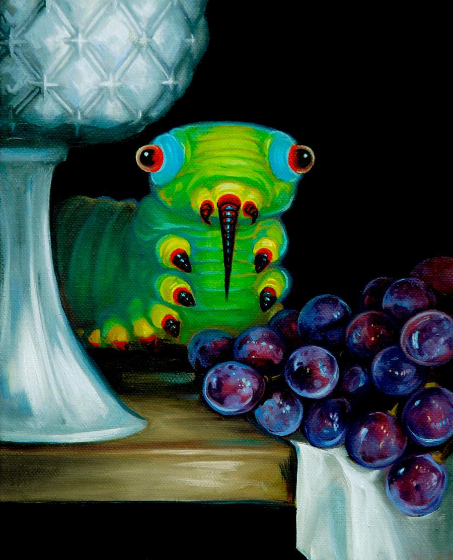 Still Life with Brain Slug by Tonicacat
