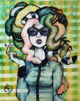 Medusa Modern by Tonicacat