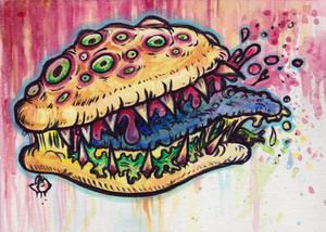 Toxic Cheeseburger