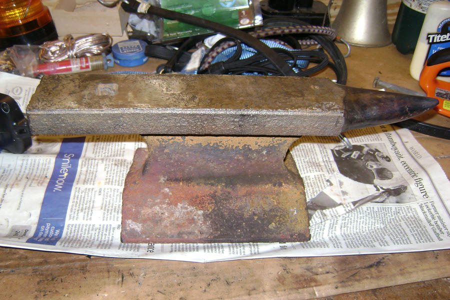 Homemade Anvil Picture #1 by Undying21 ...