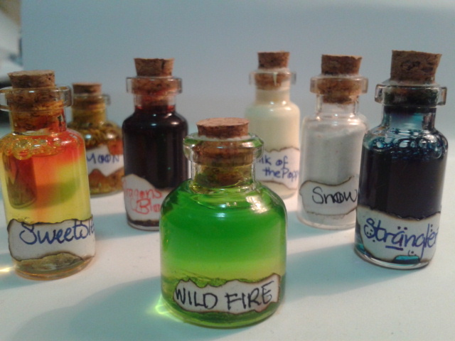 Game of Thrones Vials by valaina-williams