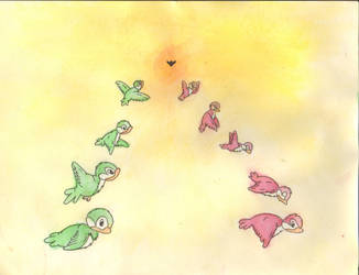 Bird Illustration by Anni1212
