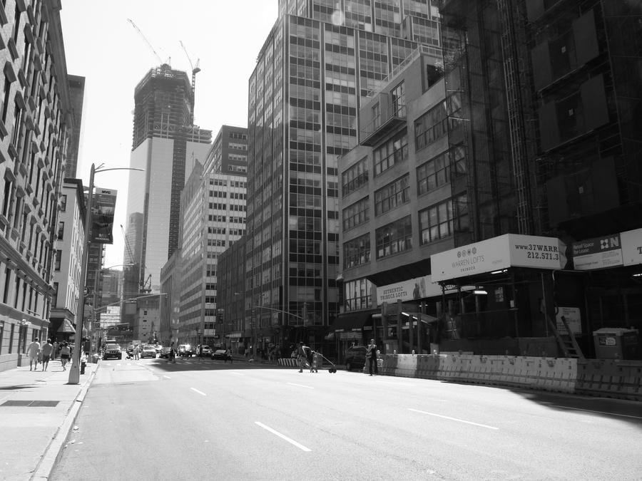 New York City Street Life in Black and White 17 by kukikid ...